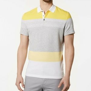 Alfani Men's Regular Fit Colorblocked Enginereed